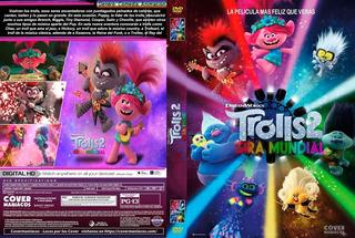 Trolls 2 Gira Mundial Dvd