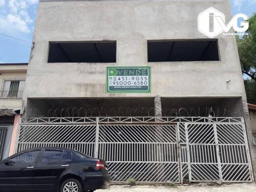 Imagem 1 de 12 de Salão À Venda, 600 M² Por R$ 900.000,01 - Parque Santo Antônio - Guarulhos/sp - Sl0131