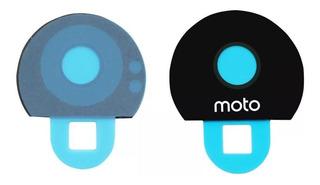 Cristal Camara Moto Z Play Xt1635 + Adhesivo