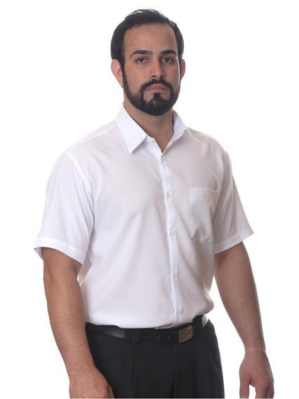 Kit Com 20 Camisas Sociais Manga Curta Para Revender Atacado