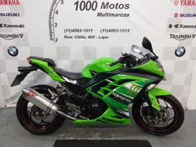 Kawasaki Ninja 300 Abs 2014 Otimo Estado Aceito Moto