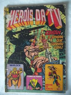 Gibi Hq Heróis Da Tv Nº 51 Set 1983 Abril Conan Leia O Anúnc
