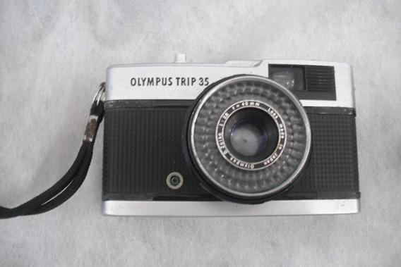 Lote 2 Camera Olympus Trip 35 Mais Antiga Olympus 35