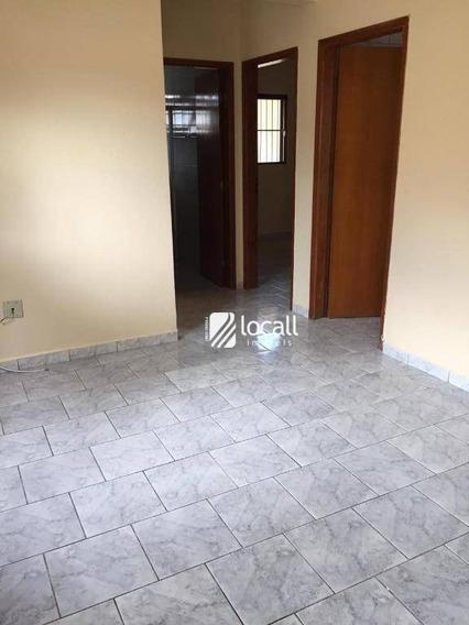 Apartamento Com 2 Dormitórios Para Alugar, 65 M² Por R$ 650/mês - Jardim Vale Do Sol - São José Do Rio Preto/sp - Ap1869