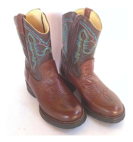 Bota Country Infantil Texana Silverado Bico Redondo - 23
