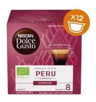 Cápsulas Nescafé Dolce Gusto Perú Espresso Oficial
