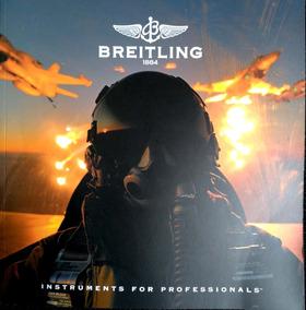 Relógios Breitling Catálogo 231 Páginas Novinho 2016 Coleção