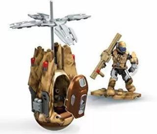 Mega Construx Halo Drop Pod 57 Pzas Cobra De Bronce Oferta