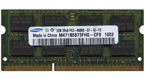 Memoria Soodim Ddr3 2gb Samsung