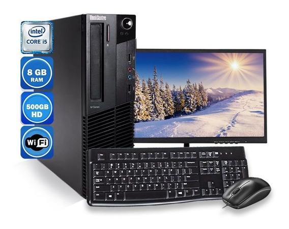Computador Lenovo M93 Sff I5 4° Geração 8gb Hd 500gb Wi-fi