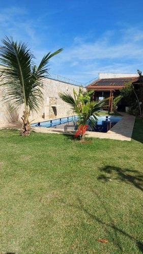 Imagem 1 de 8 de Casa Com 2 Dormitórios À Venda, 300 M² Por R$ 770.000 - Flor Do Vale - Tremembé/sp - Ca0513
