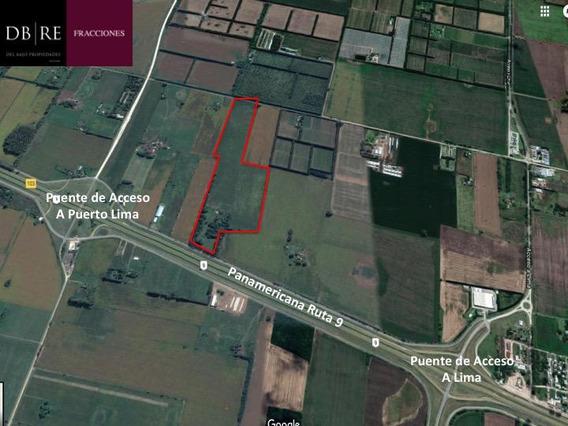 Fracción 23,5 Has - Panamericana Ruta 9 Km 102,3 - Lima, Zarate