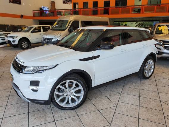 Range Rover Evoqye Dynamic 2014 Branca Blindada N Iii-a Top