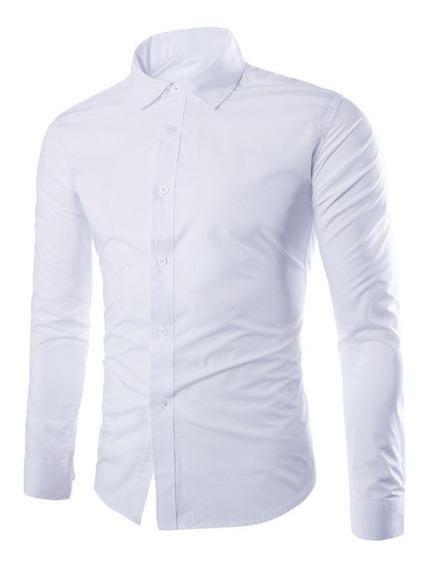 Camisas Entalladas De Importacion Slim Fit Todos Los Talles!