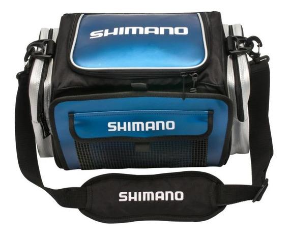 Bolso Caja De Pesca Shimano Con Bandejas Mvd Sport