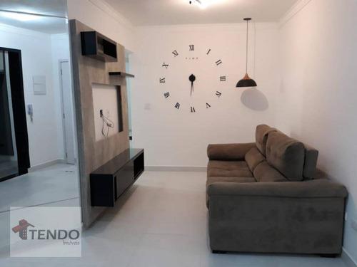 Imagem 1 de 20 de Imob01 - Apartamento 60 M² - Venda - 2 Dormitórios - 1 Suíte - Olímpico - São Caetano Do Sul/sp - Ap2296