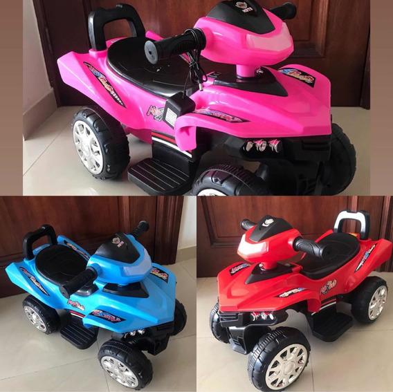 Motorcito Eléctrico Para Niños De 1-2 Años Con Luz Y Sonido