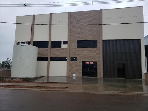 Galpão Para Alugar, 980 M² Por R$ 9.500,00/mês - Centro Tecnologico  Cintec - Santa Bárbara D'oeste/sp - Ga0256