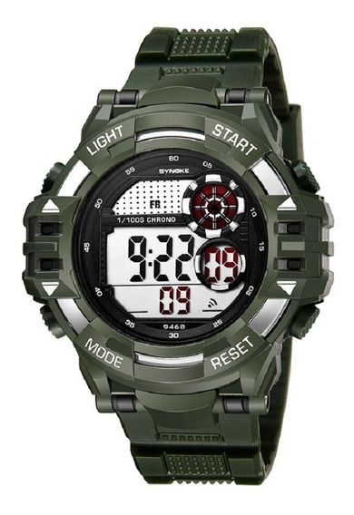 Relógio Masculino Synoke 9468 Digital A Prova D