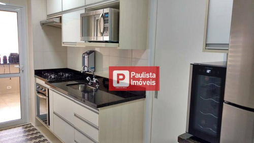 Apartamento À Venda, 100 M² Por R$ 898.000,00 - Chácara Santo Antônio (zona Sul) - São Paulo/sp - Ap24792