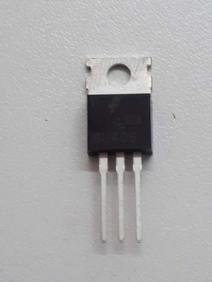 5pçs/lote Novo Bu406 To-220 Silicon Npn De Comutação Trans