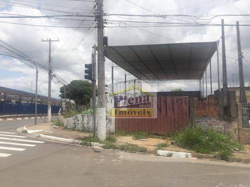 Terreno Para Alugar, 435 M² Por R$ 2.500,00/mês - Parque Dos Pinheiros - Hortolândia/sp - Te0943