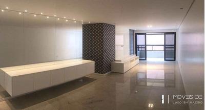 Apartamento Com 3 Dorms, Ponta Verde, Maceió - R$ 950 Mil, Cod: 100 - V100