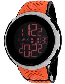 Reloj I-gucci Para Hombre Ya114104, De Cuarzo, Con Zafiro,