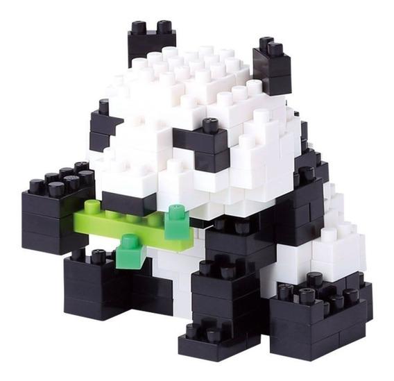 Nanoblock Panda Juguete Rompecabezas Juego Didactico Regalo