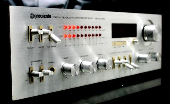 Receiver Gradiente Model 1450 Fm Não Funciona.