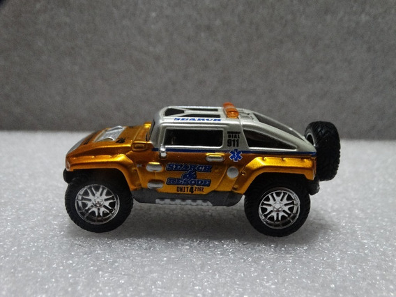 Hummer Hx Concept Searce & Rescue Maisto 1:64 Loose