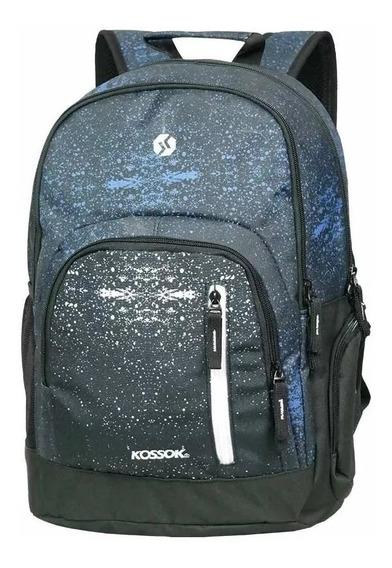 Mochila Kossok Malibu Porta Laptop 20 Litros