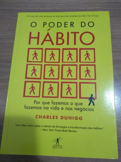 O Poder Do Hábito (português) Capa Comum