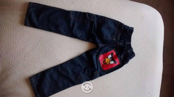 Jeans Rovio Talla 4 Para Niño O Niña Nuevo