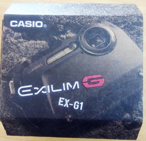 Camara Fotografica 12.1 Mp Casio Exilim G Exg1 Usada
