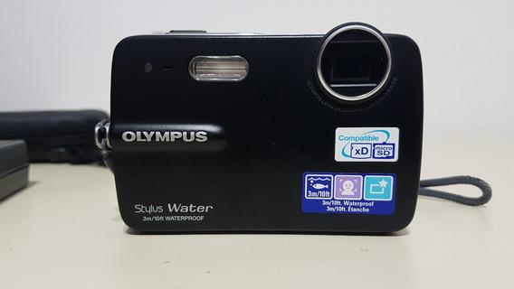 Camera Digital Olympus Stylus Water - A Prova D´água 550wp