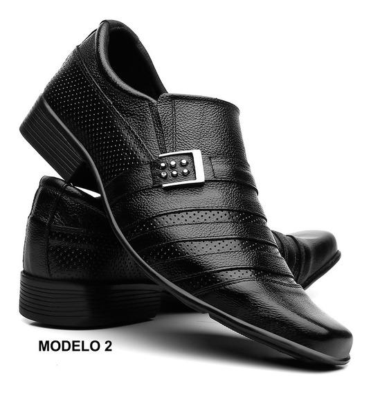 Sapato Social Masculino Sola Colada E Costurada Promoções