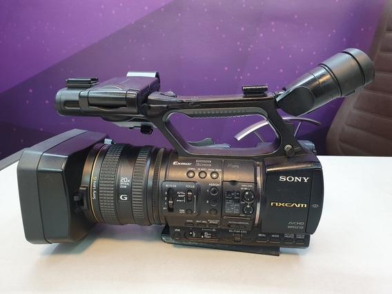 Filmadora Sony Nxcam- Nxn + Bateria Sony F970 Original