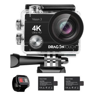 Dragon Touch 4k Acción Cámara 16mp Sony Sensor Visión 3 C