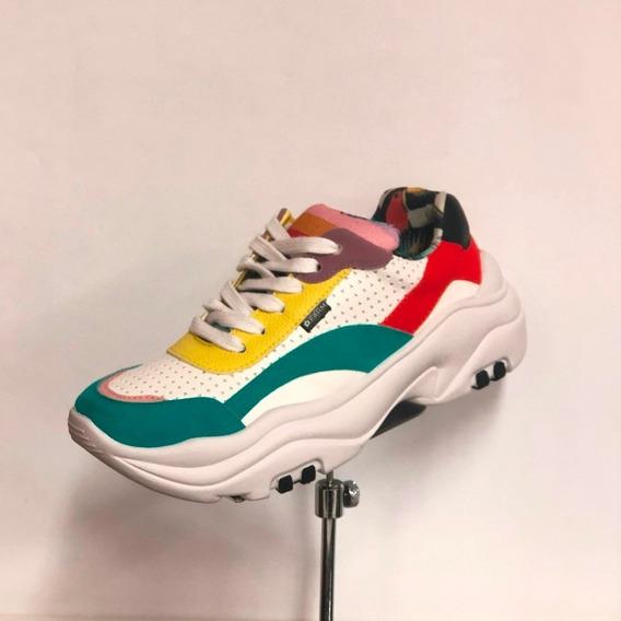 Tênis Farm Chunky Sneaker Branco/ Multicolorido - Loja Berti Maria