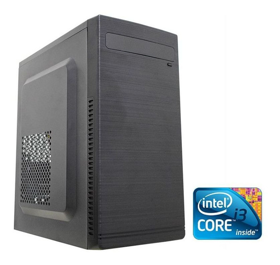 Computador Desktop Intel Core I3 4gb Ram Ssd 120gb