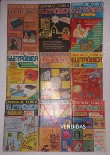 7 Revistas Divirta-se Com A Eletrônica (anos 80)
