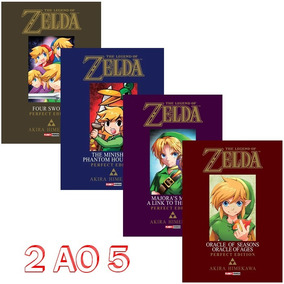 The Legend Of Zelda Volumes 2 Ao 5! Panini! Frete Gratis