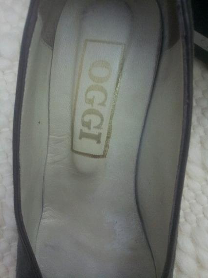 Zapatos Gamuza Gris N°35