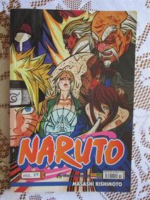 Naruto 59 - Primeira Publicação - Masashi Kishimoto