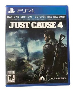 Ps4 Just Cause 4 Videojuego