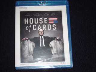 Blu Ray House Of Cards Primera Temporada ( Oferta)