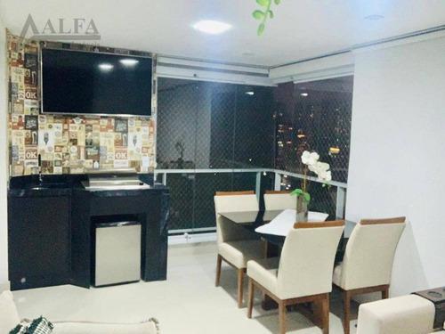 Imagem 1 de 15 de ** Red Tatuapé - Oportunidade - Maravilhoso Apartamento Em Andar Alto C/ Amplo Terraço Gourmet - Vista Deslumbrante - 2 Vagas + Depósito ** - Ap1402