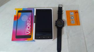 1 Smart Phones E 1 Relogio Com Bluetooth