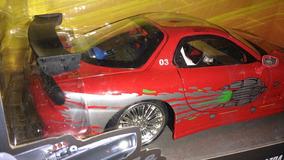 Mazda Rx 7 Veloses E Furiosos 1:24 Na Caixa Lacrada Original